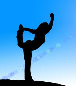 yoga dancer's pose natrajasana